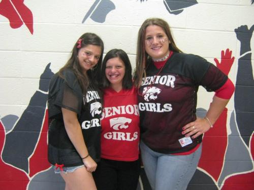 Deandra, Michelle, and myself at our senior year homecoming...just before Michelle was crowned Homecoming Queen!