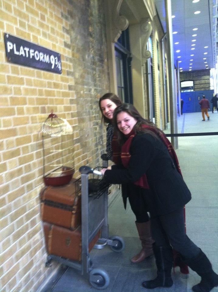 Platform 9 3/4 in London
