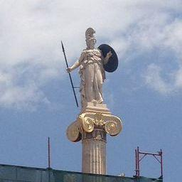 Statue of Athena in Athens