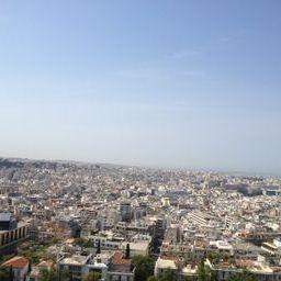 View of Athens from the top of the Acropolis