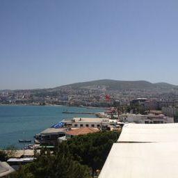 The harbor in Kuşadası, Turkey