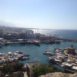 Harbor in Famagusta