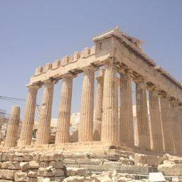 The Parthenon-Built in honor of Athena, the patron goddess of Athens