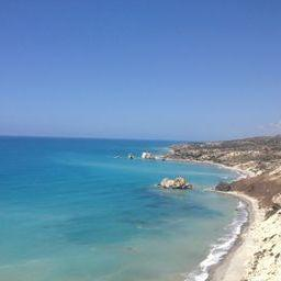 The birthplace of the goddess Aphrodite. Legend says if you swim here you will become more beautiful.