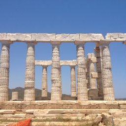The Temple of Poseidon in Cape Sounion