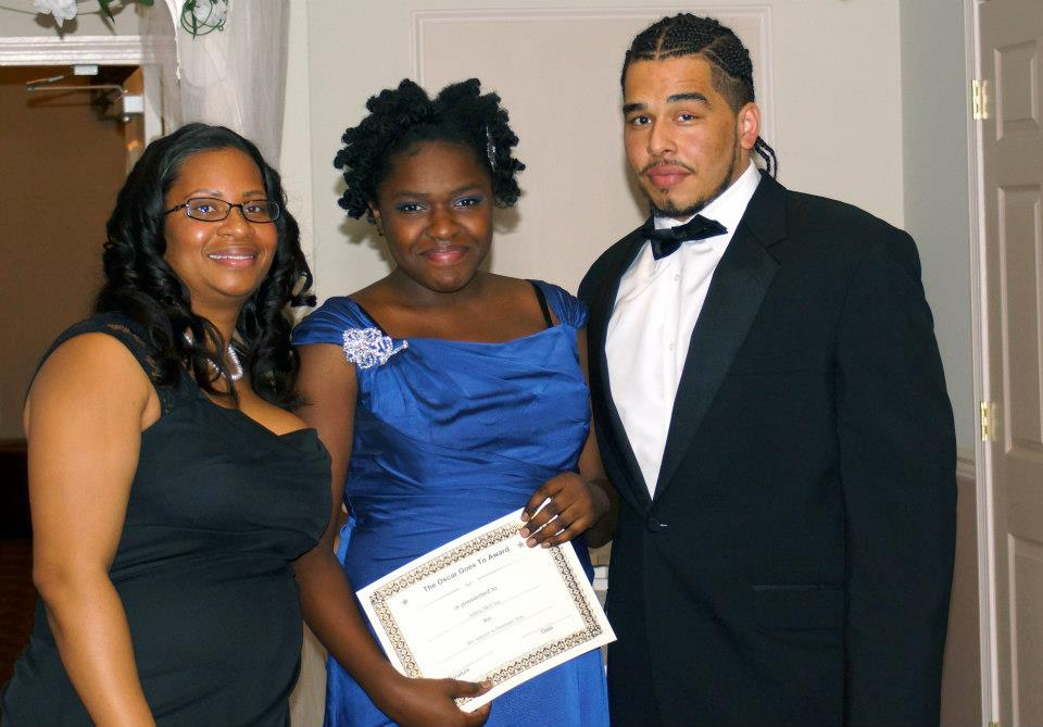 Higher Heights is a college and SAT prep program for high school students in the Greater New Haven area. Here I am receiving an award at their Young Legends Ball with the director, Chaka Felder and their intern, Nelson.