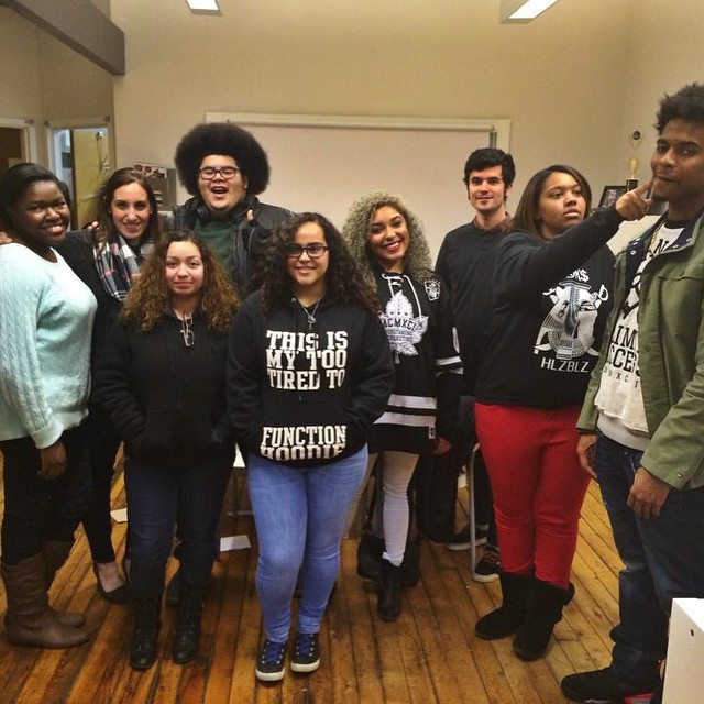 My family at Youth Rights Media, featuring our Program Director and Coordinator, Dan & Melissa.